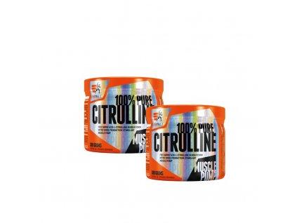 AKCE 1+1 Extrifit 100% Pure Citrulline 300 g + 100% Pure Citrulline 300 g