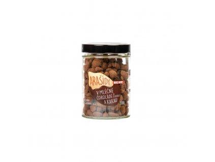 Big Boy Arašídy v mléčné čokoládě a kakau 300 g
