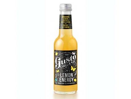 Gusto Organic Lemon Energy 250ml