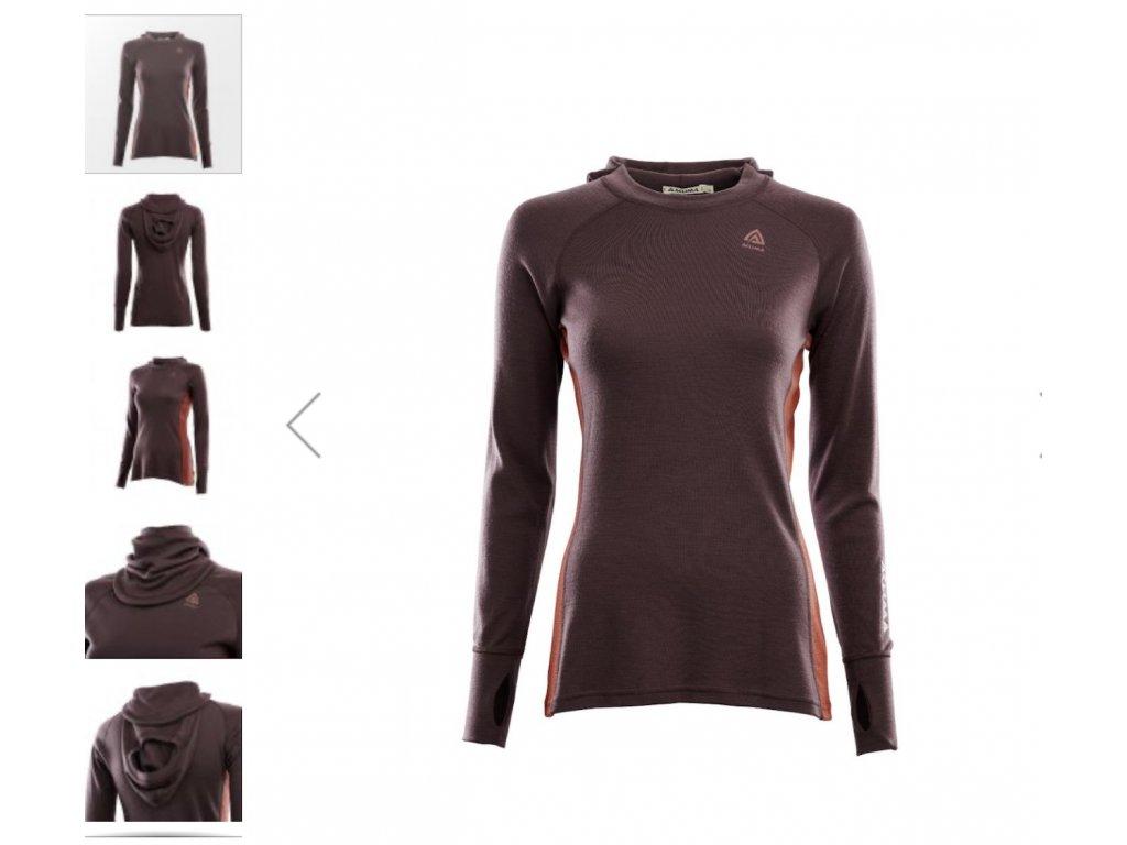 Dámská mikina Aclima WarmWool Hood Sweater 105382 + doprava zdarma