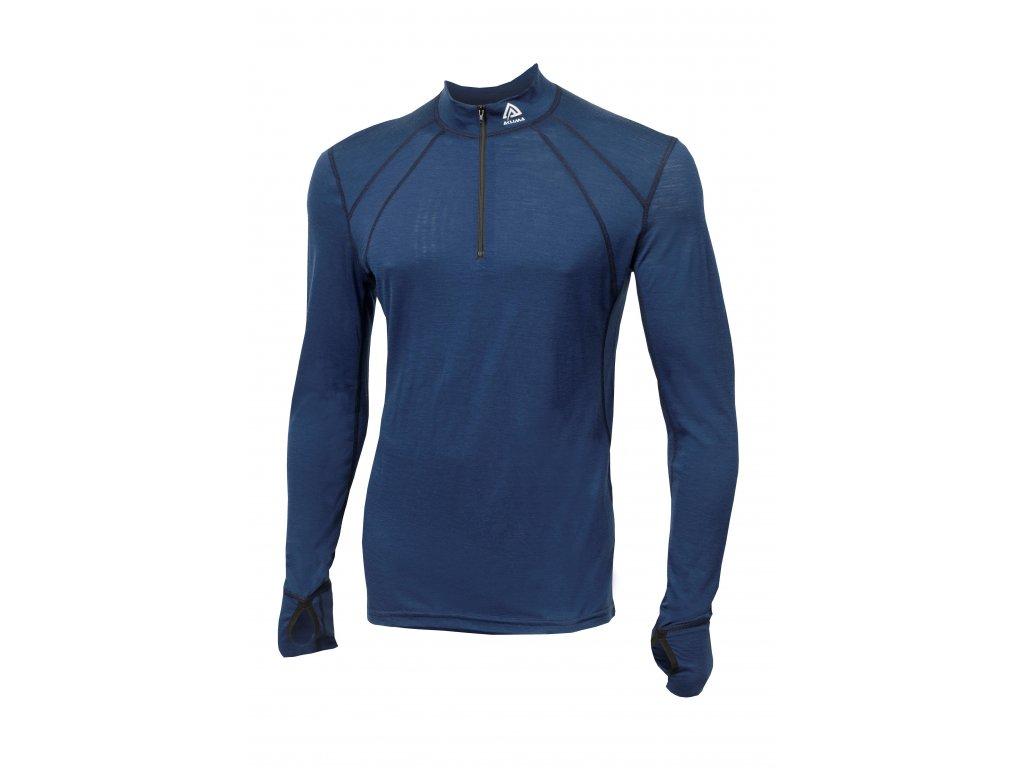Pánské triko Aclima LightWool Zip Shirt 102524 + doprava zdarma