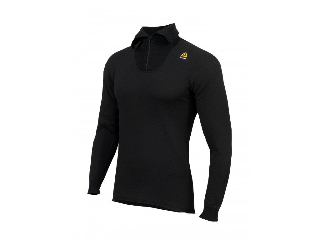 HotWool Polo w zip U Jet Black M 815385369