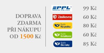Cena dopravy a platby