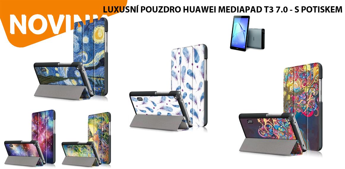 LUXUSNÍ POUZDRO HUAWEI MEDIAPAD T3 7.0 - S POTISKEM