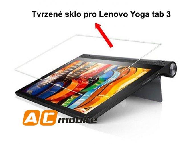 Tvrzené sklo pro Lenovo Yoga tab 3