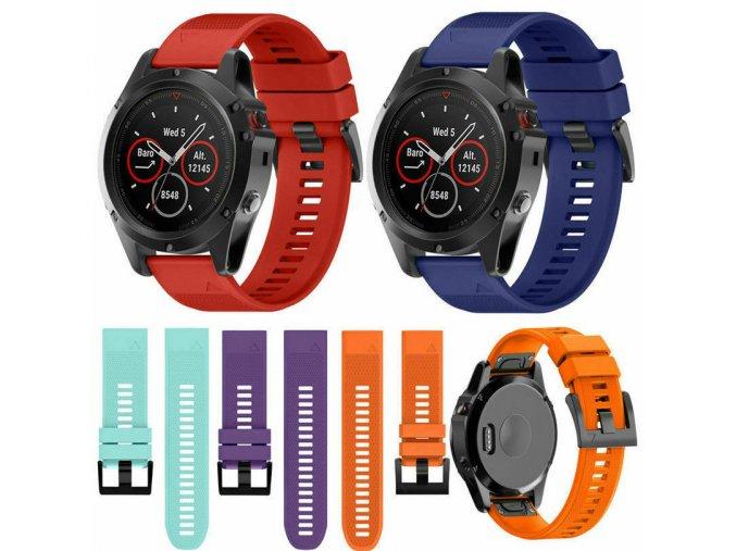 Pásek na hodinky Garmin Fenix 5S/5S plus - řemínek 20 mm