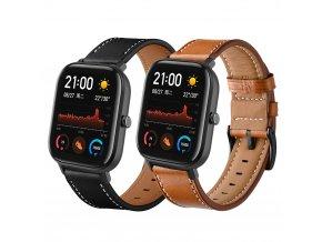 kožený pásek II na hodinky xiaomi gts 1