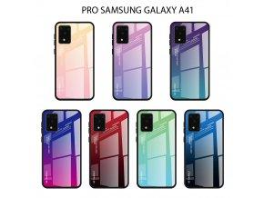 Skleněný obal na Samsung galaxy A41 2