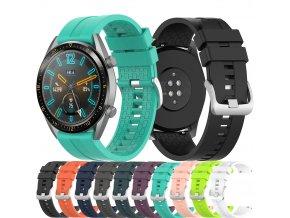 Silikonový pásek na chytré hodinky 22mm 0