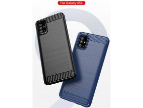 Silikonový obal Samsung A51 cerny 7