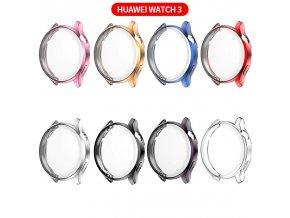barevný silikonový kryt na Huawei watch 3 0
