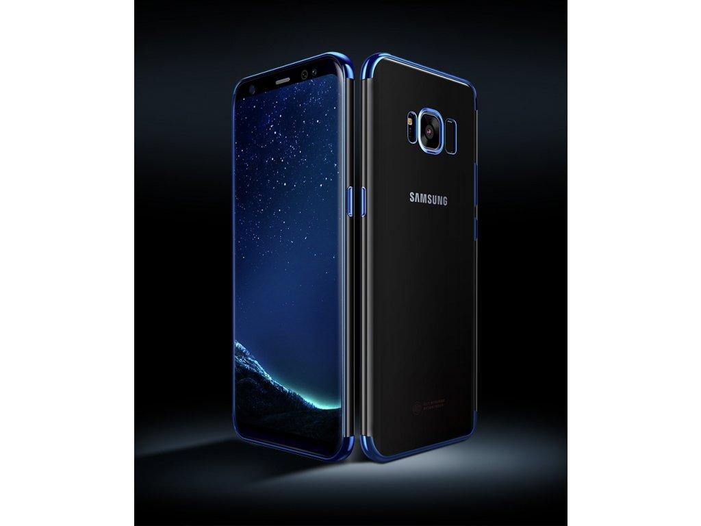 22c64951f Silikonový obal na Samsung Galaxy S8 (Barva Zlatá)