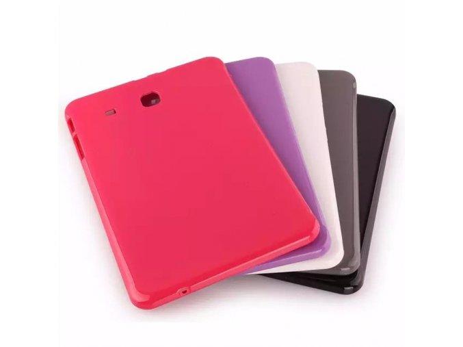 Silikonový kryt Samsung E 9.6 - obal (Barva Nachová)