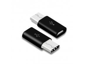 Redukce micro USB na typ C (Barva Bílá)