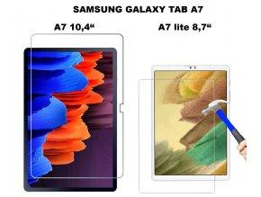tvrzené sklo na tablet samsung galaxy tab A7 lite0