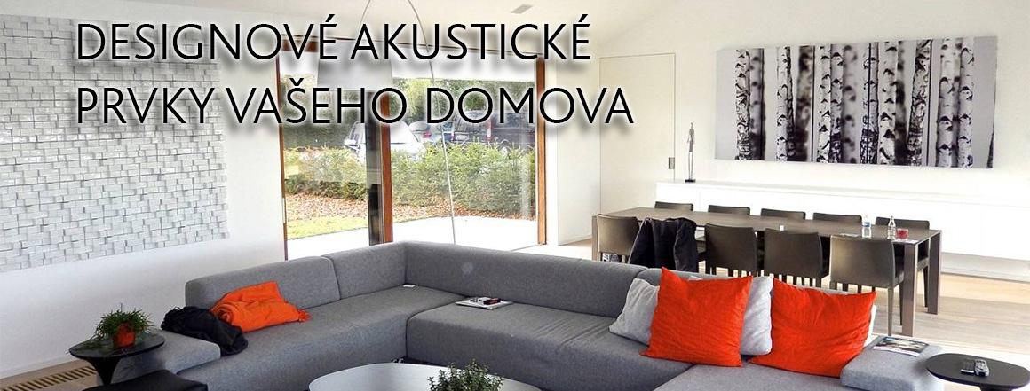 Designové akustické prvky vašeho domova
