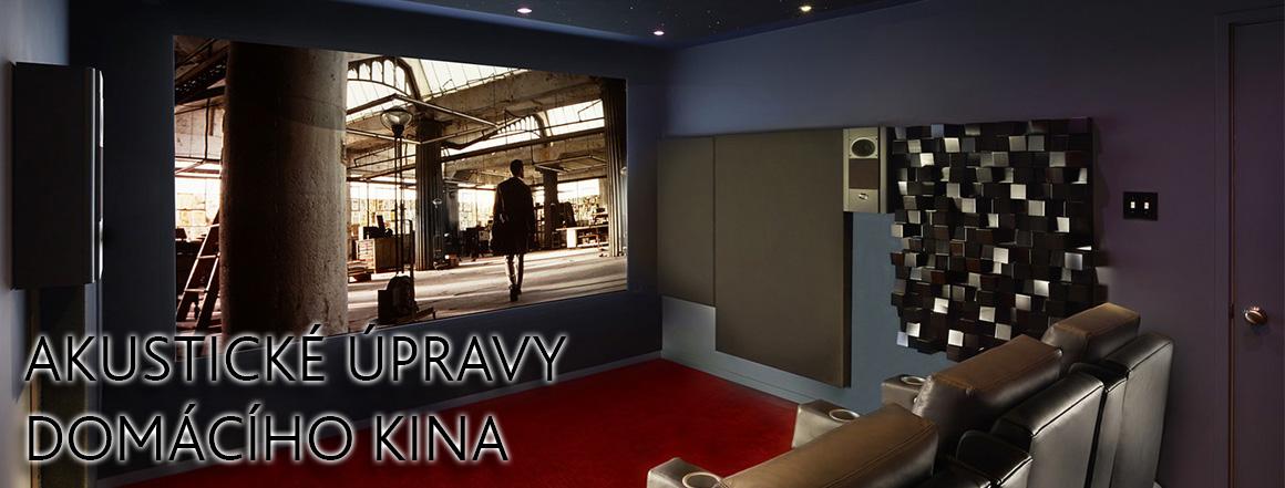 Akustické úpravy domácího kina