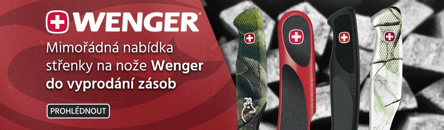 Výprodej střenek Wenger