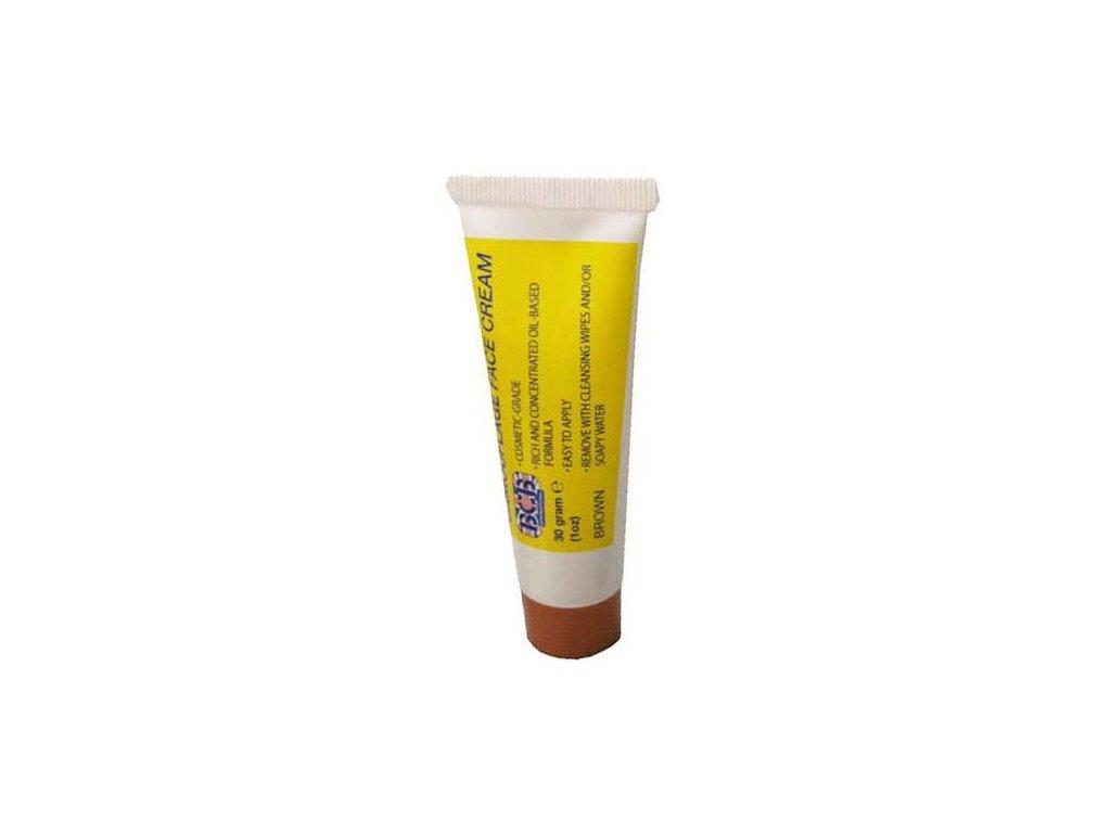 BCB Adventure maskovací barva Camo Face Cream 30g brown