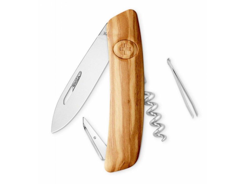 Swiza kapesní nůž D01 Standard Wood Olive