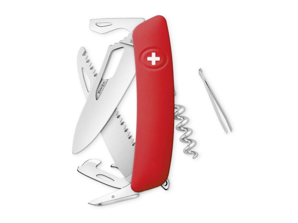 Swiza kapesní nůž SH05R Single Hand red