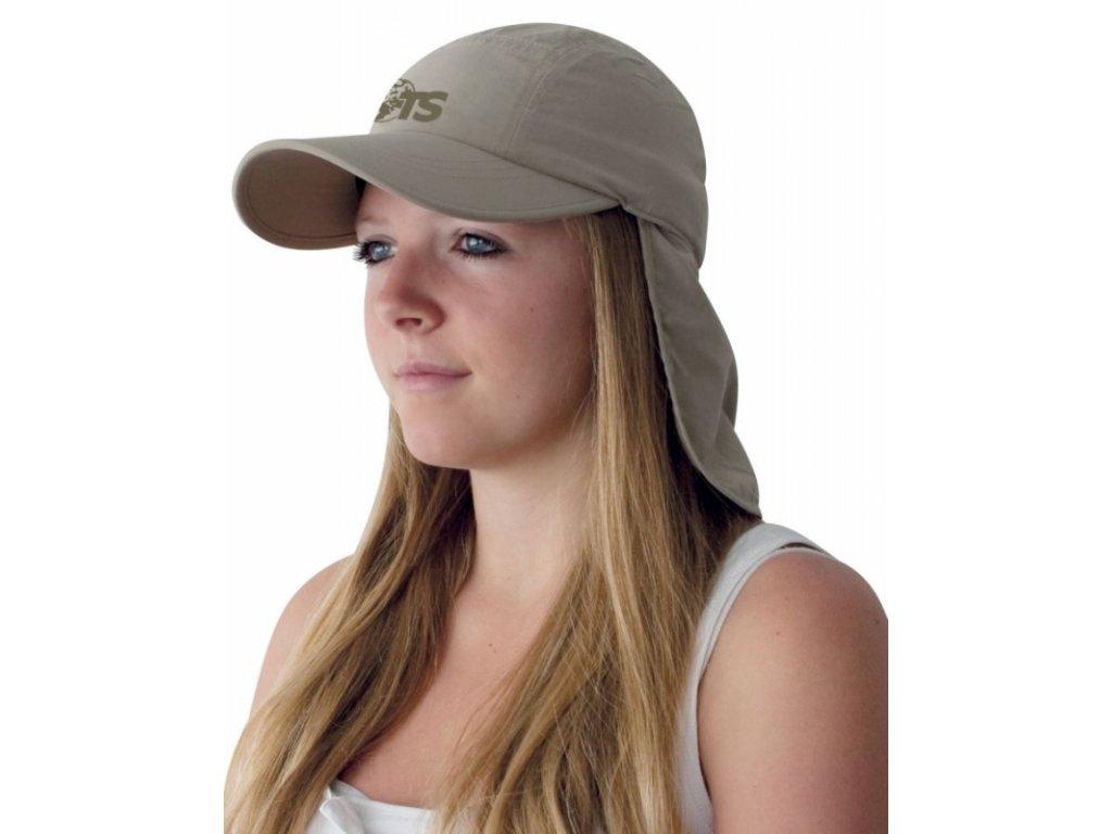 TravelSafe čepice s límcem proti slunci Desert Cap