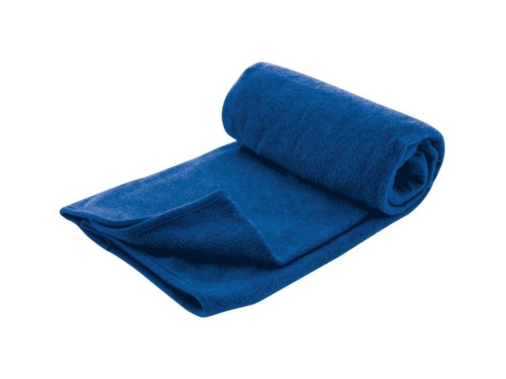 TravelSafe cestovní fleeceová deka Travel Blanket modrá