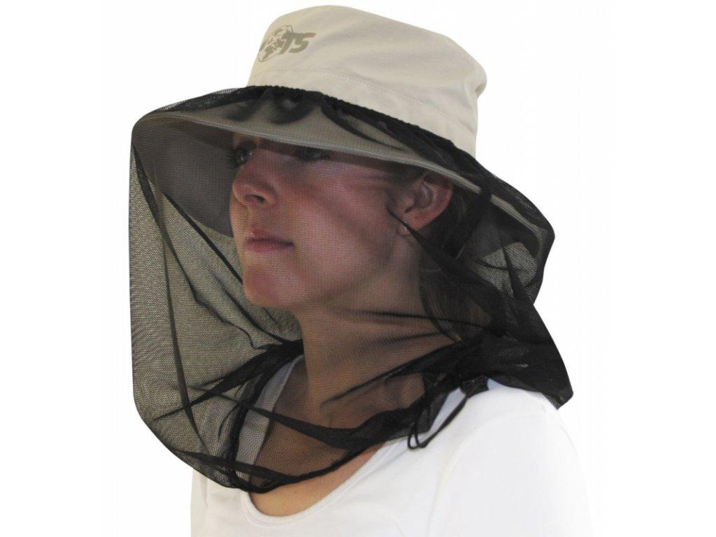 TravelSafe klobouk proti slunci s moskytiérou Mosquito Sunhat