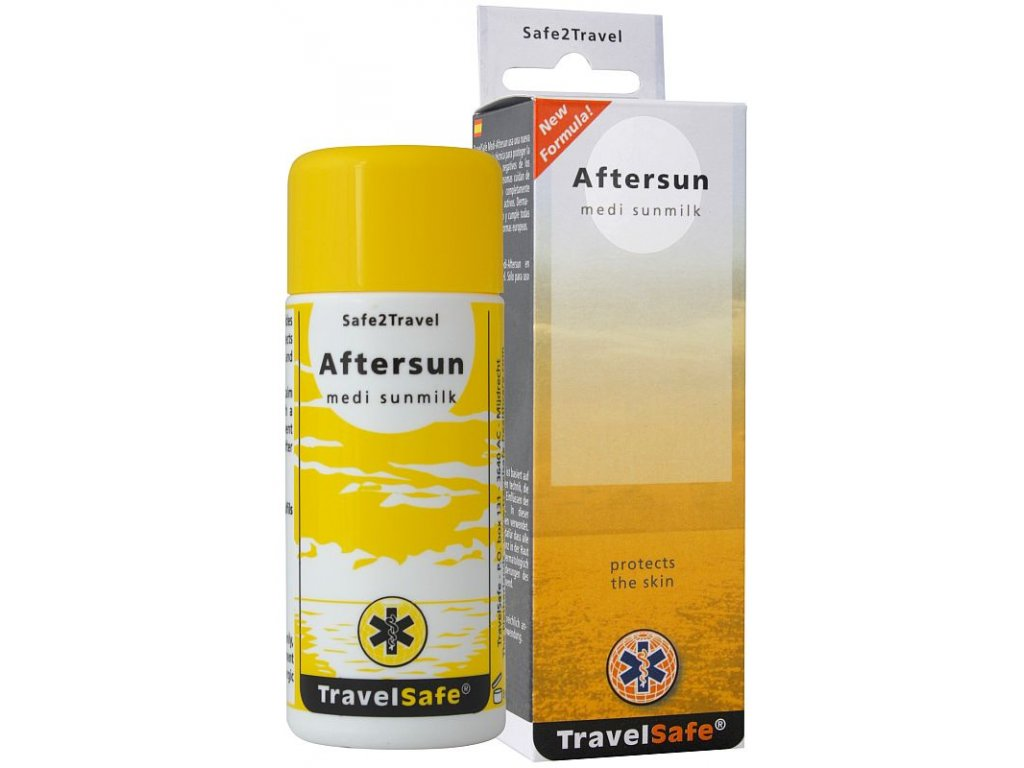 TravelSafe mléko po opalování Aftersun