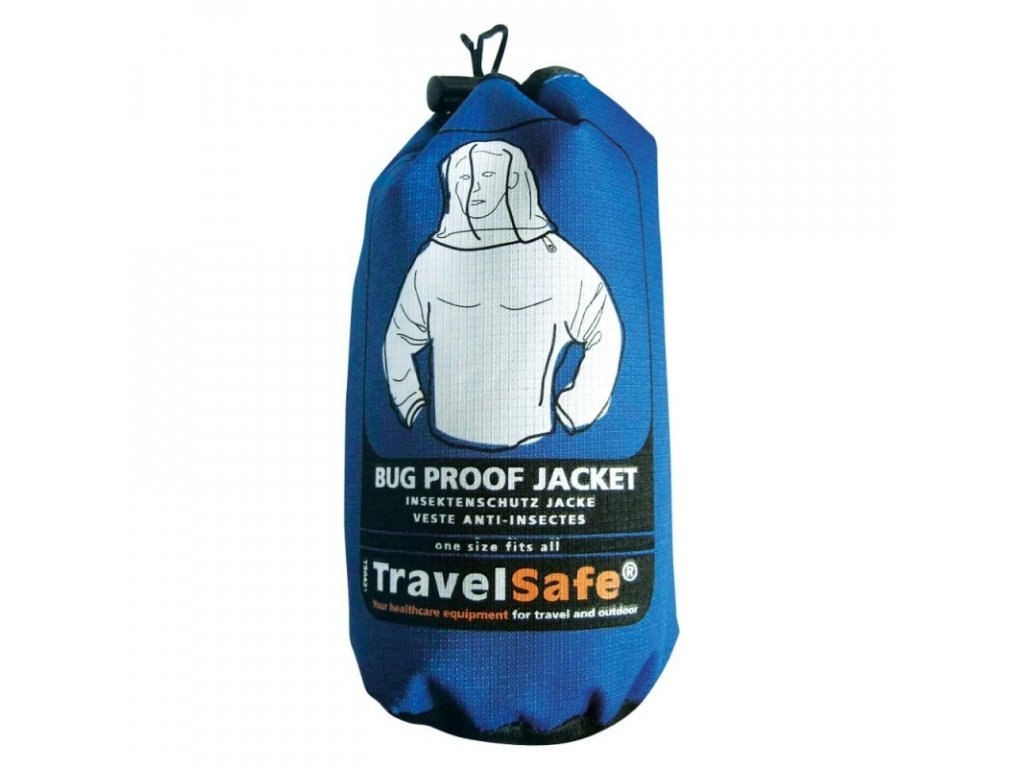 TravelSafe moskytiérová bunda Bug Proof Jacket