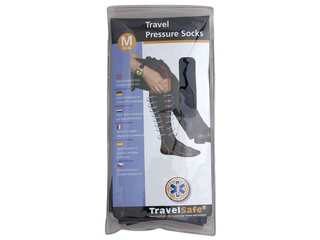 TravelSafe podkolenky Travel pressure socks M/39-42