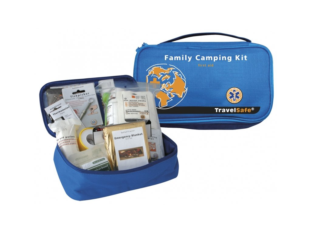 TravelSafe rodinná lékárna Family Camping Kit First Aid