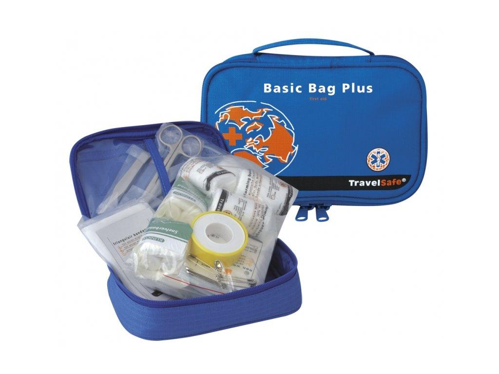 TravelSafe rozšířená lékárna Basic Bag Plus First Aid