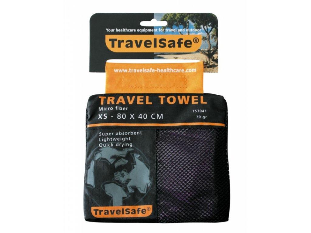 TravelSafe ručník Microfiber Towel XS purple