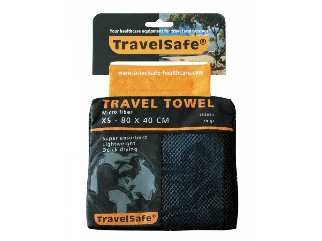 TravelSafe ručník Microfiber Towel XS royal blue