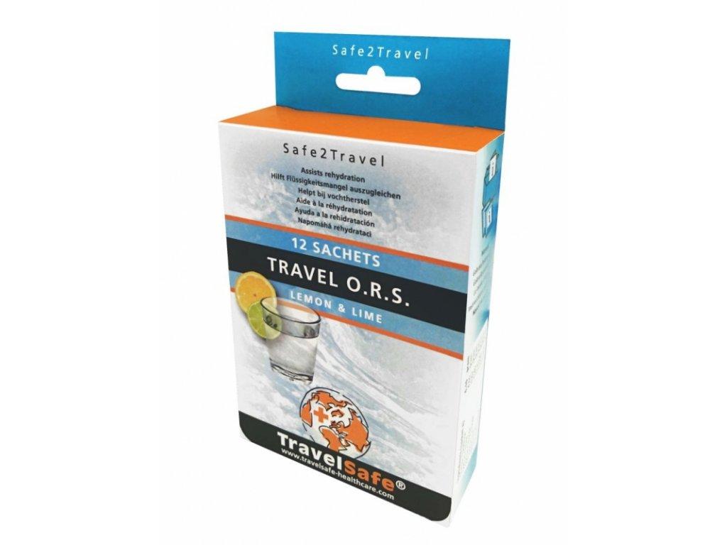 TravelSafe Travel ORS roztok proti průjmu