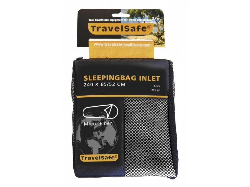 TravelSafe vložka do spacáku Microfiber Mummy beige