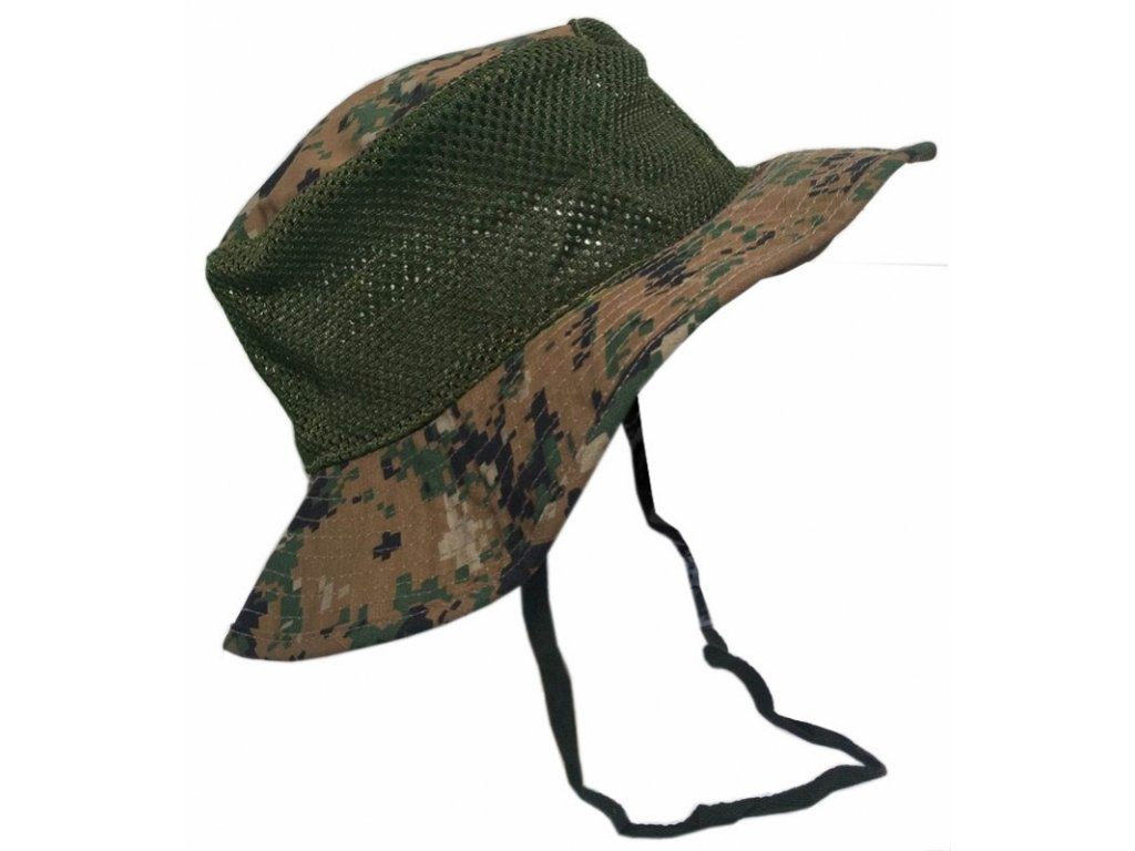 BCB Adventure klobouk proti slunci XXL camo