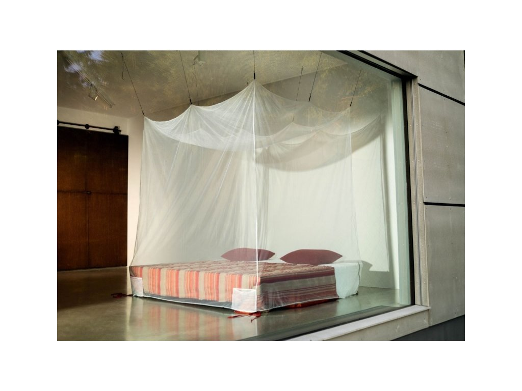 Cocoon cestovní moskytiéra Box Mosquito Net double