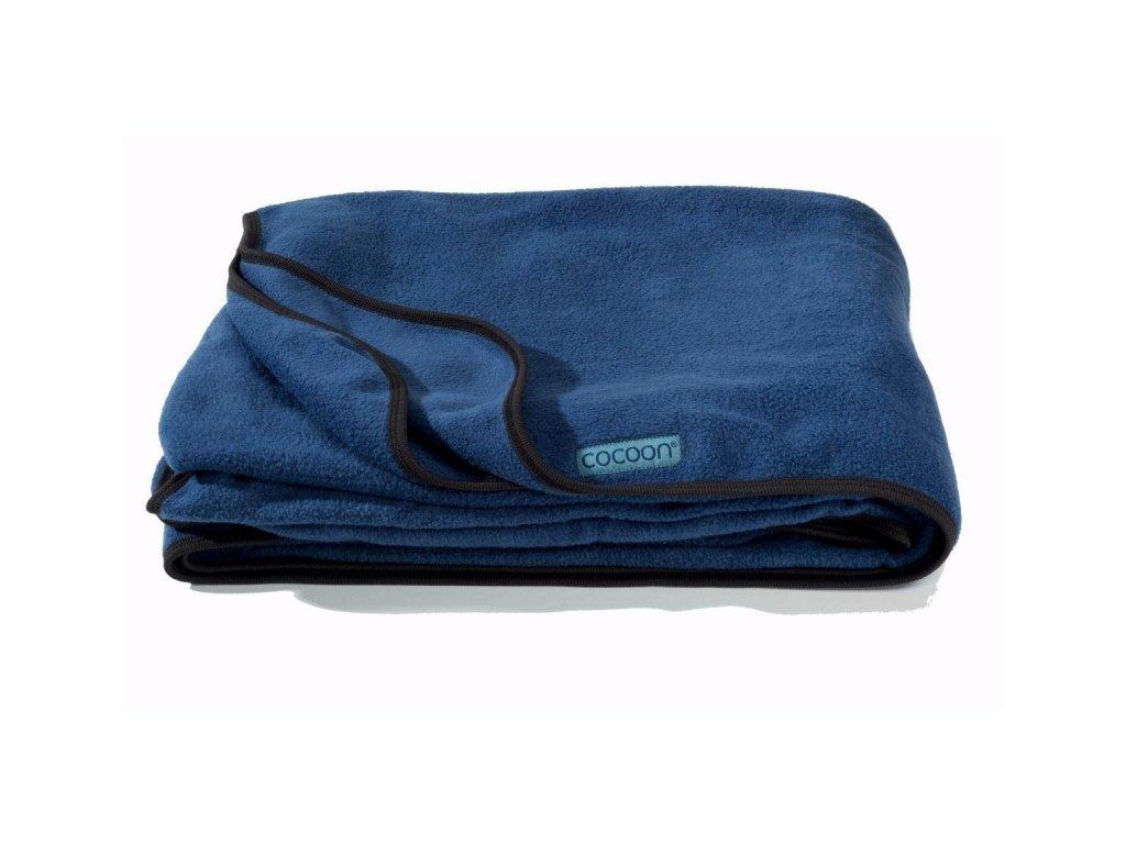 Cocoon fleeceová deka Fleece Blanket blue pacific