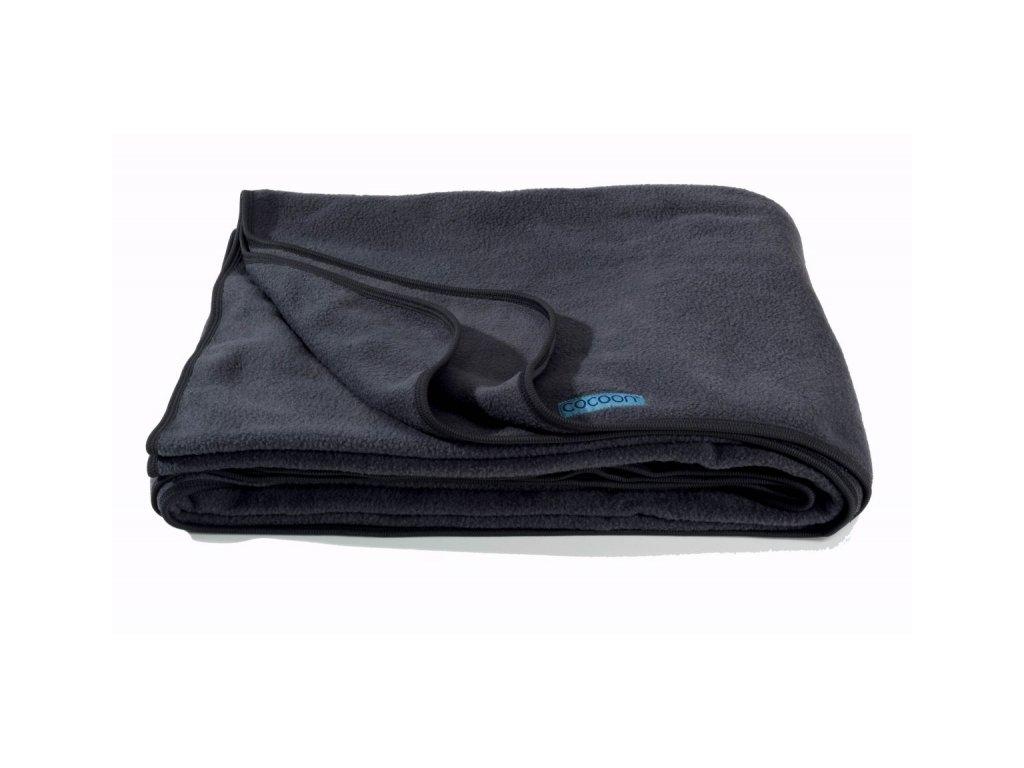 Cocoon fleeceová deka Fleece Blanket charcoal