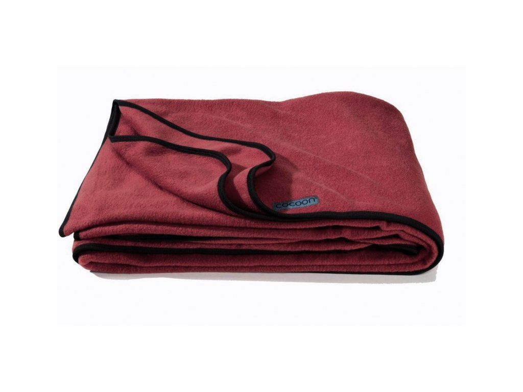 Cocoon fleeceová deka Fleece Blanket cherry