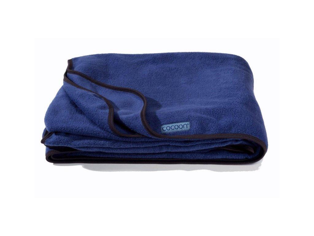 Cocoon fleeceová deka Fleece Blanket deep blue