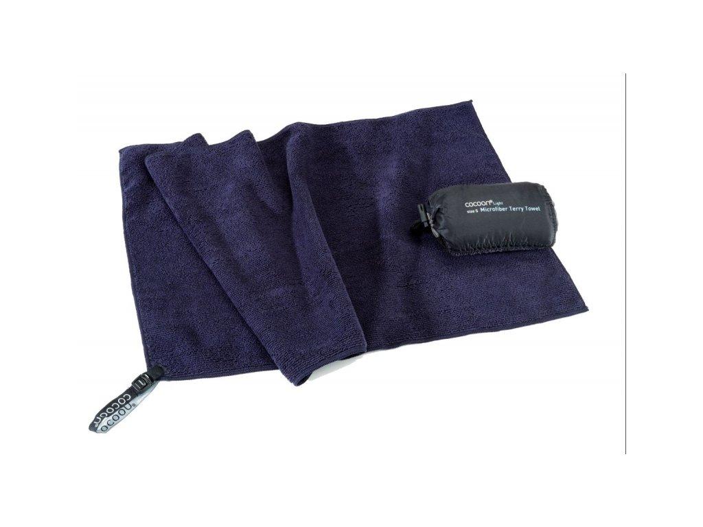 Cocoon lehký cestovní ručník L dolphin grey