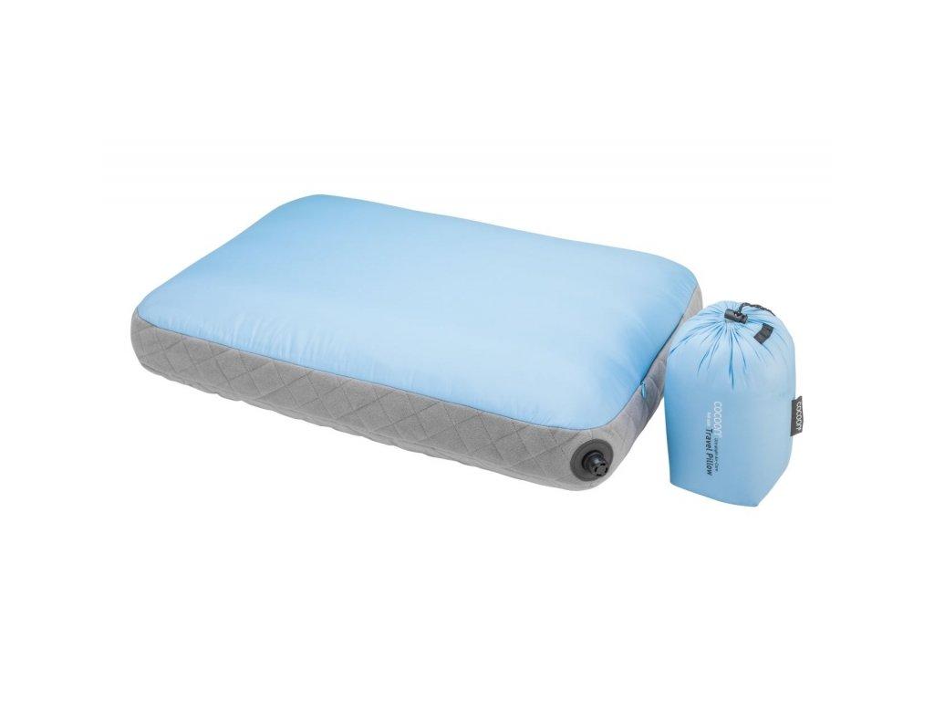 Cocoon nafukovací polštář Ultralight Air-Core light blue