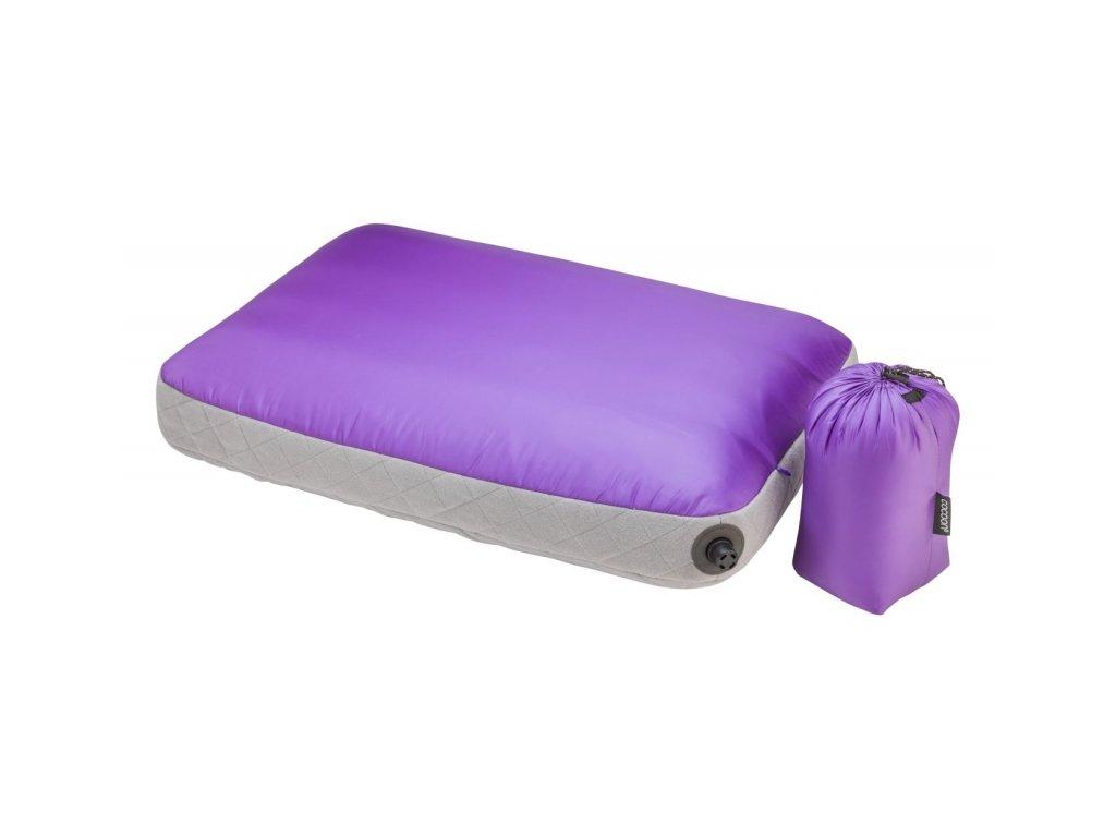 Cocoon nafukovací polštář Ultralight Air-Core purple