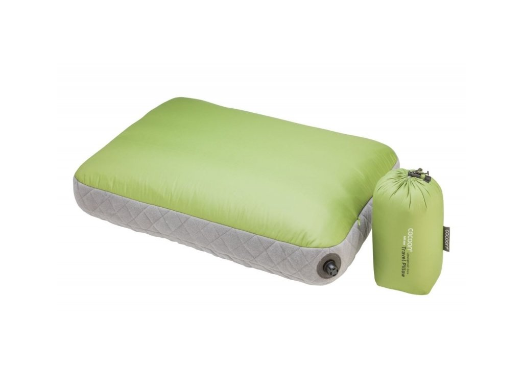 Cocoon nafukovací polštář Ultralight Air-Core wasabi
