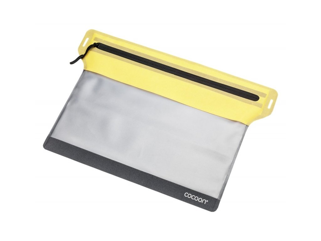 Cocoon pouzdro Zippered Flat Document Bag M yellow