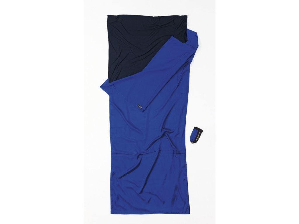 Cocoon přikrývka dual liner ultramarine blue/tuareg