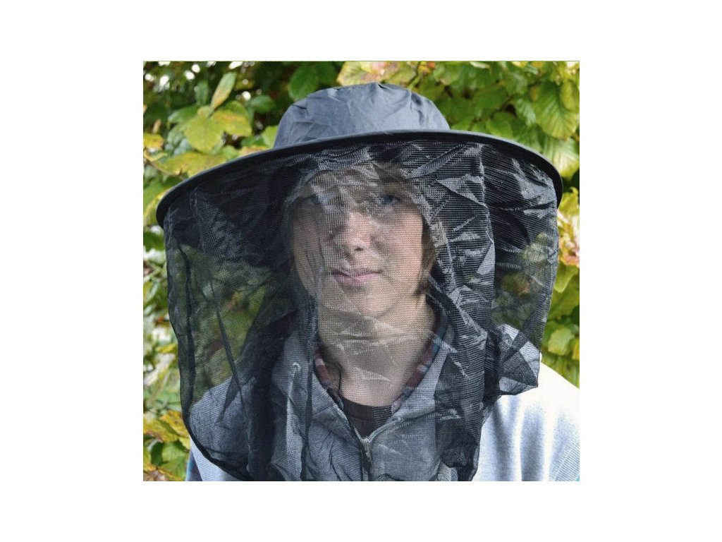 Brettschneider moskytiéra přes hlavu s vrškem Mosquito Guard